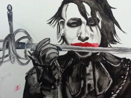 MM.M Revolver Poster Watercolor (Finished) by Tiffani67