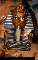 King Tutankhamun Bust by DamselStock