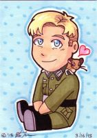ASaHM: Erich Brandt chibi by Winds-Blade