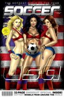 usa soccer girls by sketchstudios