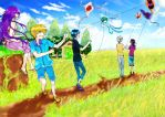 Kites of Summer by Rene-Elric