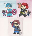 Baby Avengers: Bucky Bear...Is A  Real Boy by ShibbyOfSpades