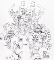 Heavy arms by WEREsandrock