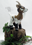 Groat the Goat 3D Cross Stitch by rhaben