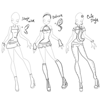 Magic Winx,Believix and Cafe Style by Lausariya