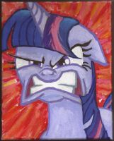 Twilight Sparkle enraged by Pwnyville