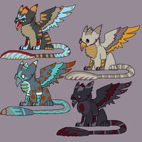 Gryphon Adopts SALE! by SpectrumAdopts