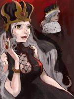 Queen and king of vampire by angeloluha