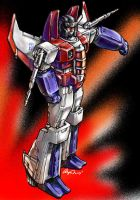 Someday Starscream -color by LagunaL8