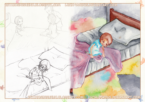 Children's illustration, sketches and pages (2/3) by Lucia-95RduS