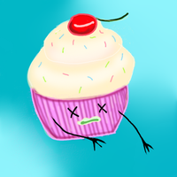 zombie cupcake by flickrBLITZshimmer