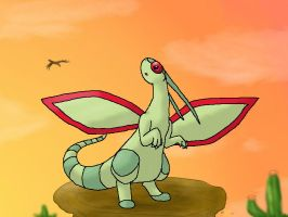 Flygon by min-mew