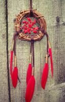 Dream Catcher with Carnelian by xsaraphanelia