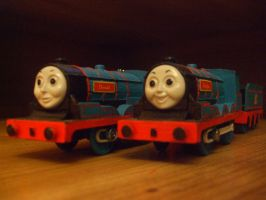 Donald and Douglas (RWS Update) by GBHtrain