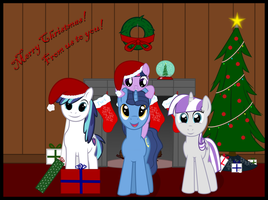 Sparkle Family Christmas by lightningtumble