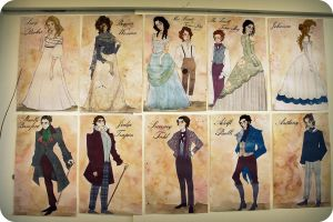 Sweeny Todd Illustrations by Rachyf1