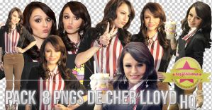 8 PNGs De Cher Lloyd HQ by KazZEditiionss