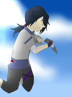 AT.:Coringo-shade:.Hitachi Uchiha ~Blue Bird ~ by Ninja-Burito