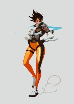 Tracer- OVERWATCH by Victor-125