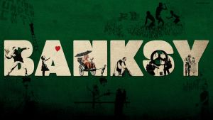 Banksy Wallpaper by knolte4fun