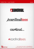 Cardinal Tees Logo Concepts by daveycoleman