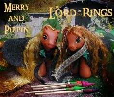 Merry and Pippin by customlpvalley