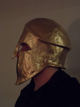 Corinthian Helmet (ProfileView) by SylvanSmith