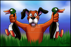 Duck Hunt by Senshee