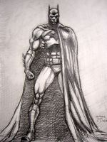 Batman (after Jim Lee) by myconius