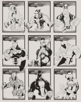 MARVEL CARDS by javipascual213