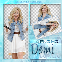 Demi Lovato PNG PACK by DesignCreationsOffi