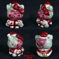 Zombie Hello Kitty XMAS by Undead-Art