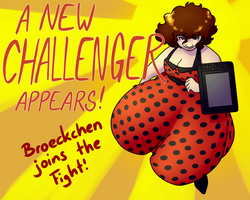 Art Fight 00 - A New Challenger Appears by Broeckchen