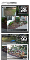 [Web Ad] Gulf Coast Landscaping - Before and After by carxangel