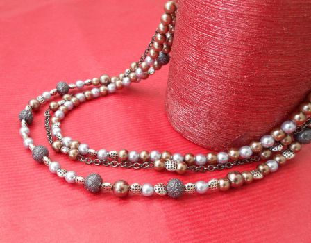 For Sale: Dark Glamour Necklace by Wirejeweller