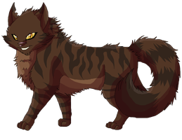 Tigerstar ref by FeralRingo