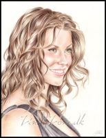 Evangeline Lilly by Zindy