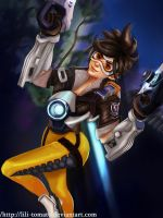 Overwatch Tracer by lili-tomato