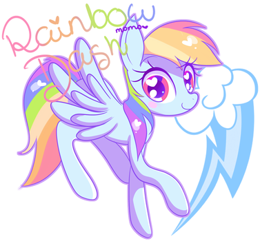Rainbow Dash by Ipun