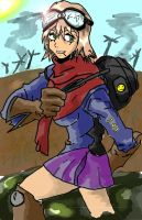 Fallout Girl by HTX-Wolf