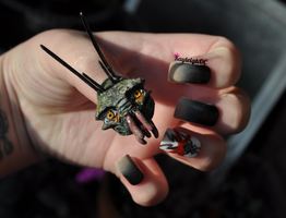 District 9 Nail Art - Prawn by KayleighOC