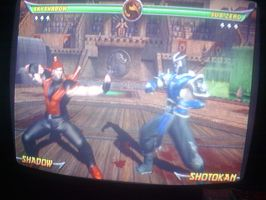 My Mortal Kombat Armageddon character in the fight by Nightcaster460