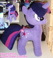 My Little Pony Twilight Sparkle Plush by GraphicPlanetDesigns