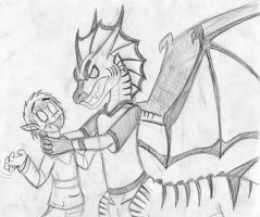Why you little...I'LL KILL YOU!! by Dinoboy134