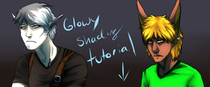 Glowy Shading Tutorial (VIDEO IN DESCRIPTION) by Whitelupine