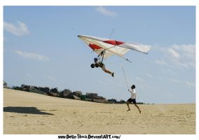 Hang Glider by Della-Stock