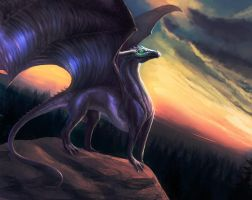 Nightdragon by akitary