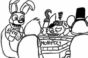 Monopoly With The Gang by RadikinSkywalker