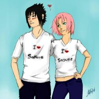 SasuSaku: Happy Valentine's Day by MazziCB