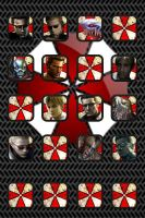 Albert Wesker and William Birkin Wallpaper by TheScarecrowOfNorway